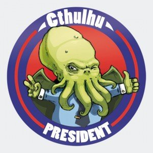 cthuluh-for-president stikers