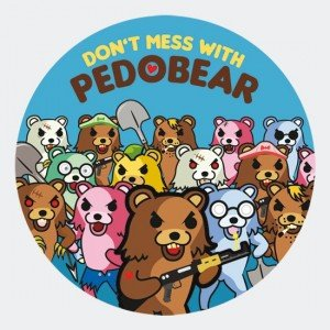 pack-don-t-mess pedobear stickers