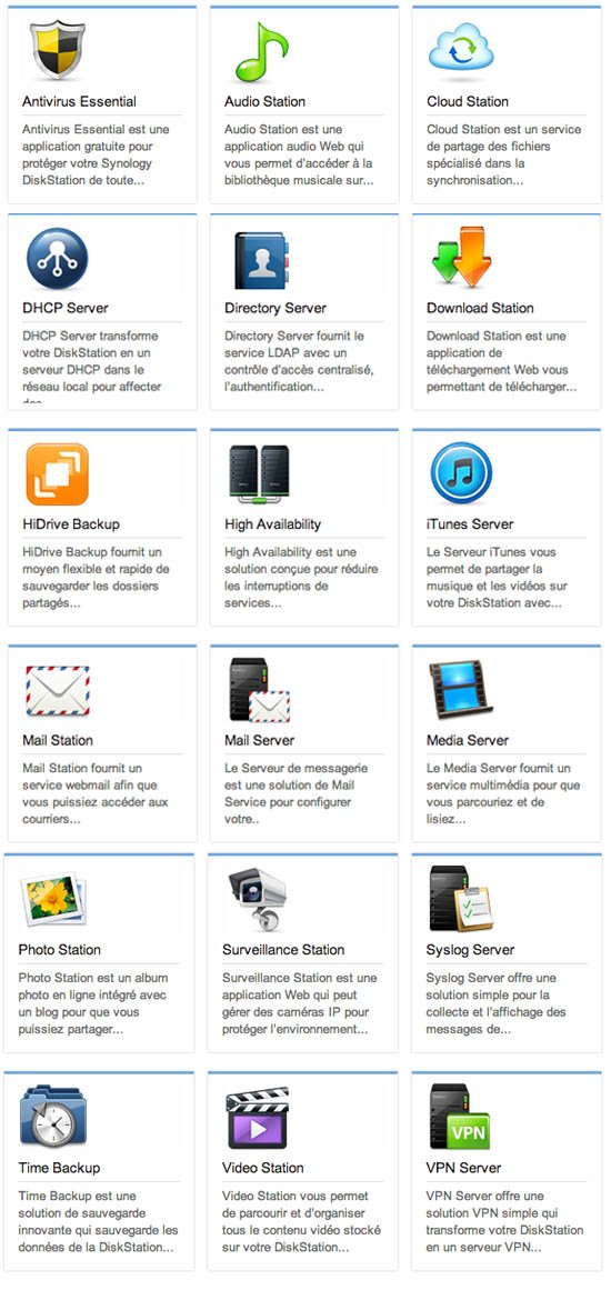 Synology nas applications