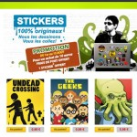 Slug Fiction : La boutique des stickers déjantés
