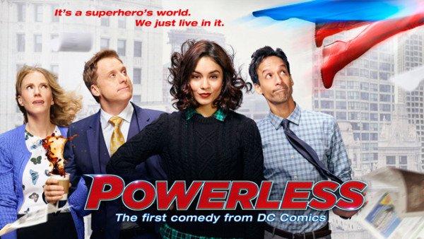 powerless serie tv dc humour