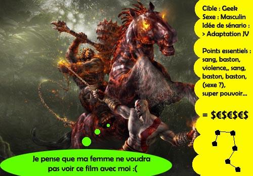 God of War - le film (pour les mecs ! yeahhh)