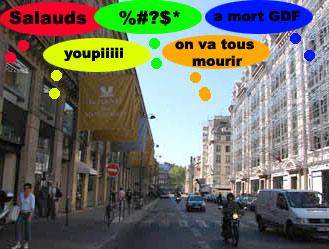 Chomage technique pour la rue Saint Honoré