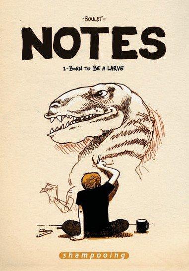 Les Notes de Boulet enfin en Bande dessinée papier !