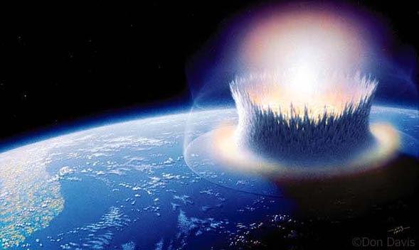 Petites réflexions dans le métro #3 : Et si une météorite se crachait sur Terre ?