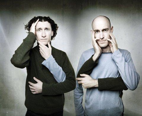 The Umbilical Brothers : le mime et le bruitage nouvelle génération