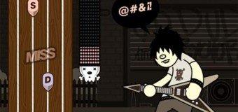 Guitar Geek : pour surfer sur la mode des Guitar Hero-like en jeu flash