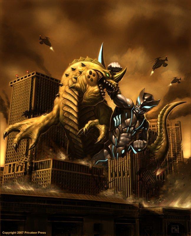 Monsterpocalypse : un jeu de société avec tous les monstres de la pop culture #2