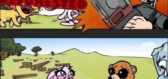 Jeu Flash : Seppukuties, jeu de plateforme pour animaux suicidaires