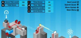 Jeu Flash : Electric-Box jeu de logique énergétique