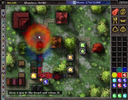 Gemcraft Chapter Zero, un tower defense avec des gemmes et de la magie