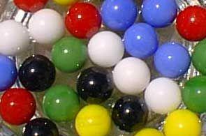 Les jeux à l'école : Les billes (Marbles game) #3