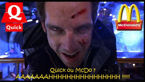 Les chroniques de JayeR : McDo VS Quick