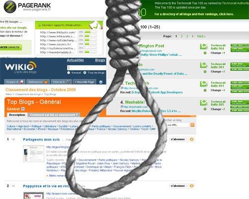 Le backlink est mort : évolution du concept d'influence dans la blogosphère
