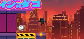 Final Ninja : jeu de plateforme en flash