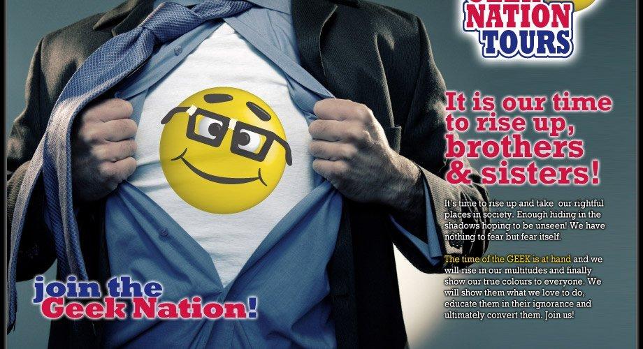Geek Nation Tours, les geeks en vadrouille !