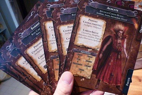 Série de cartes Carrière