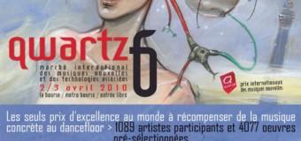QWARTZ – Prix internationaux des musiques nouvelles