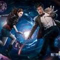 Le Onzième Docteur, Matt Smith, et sa compagnonne Karen Gillan