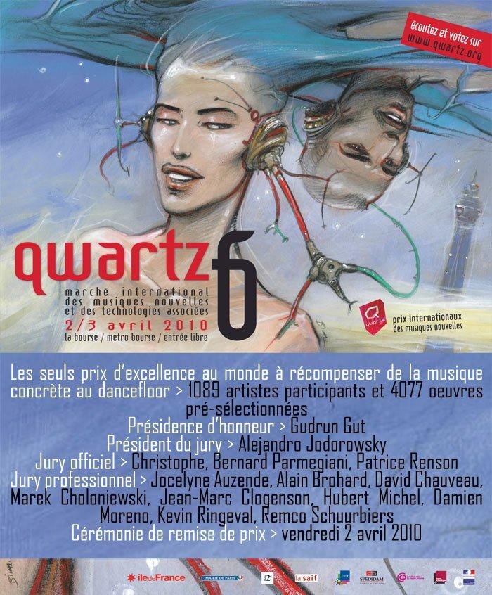 QWARTZ Awards : la cérémonie