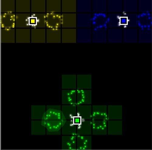 Pixel Legion un petit jeu flash d'action réflexion