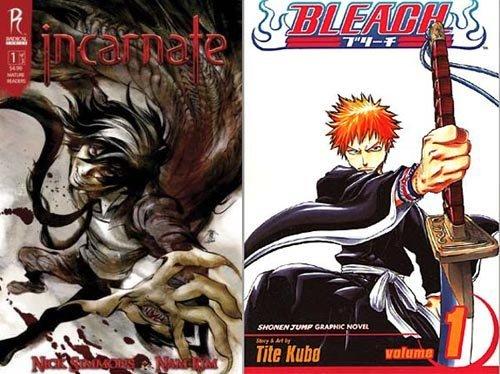Le plagiat de BD ça existe aussi : le cas Incarnate VS Bleach