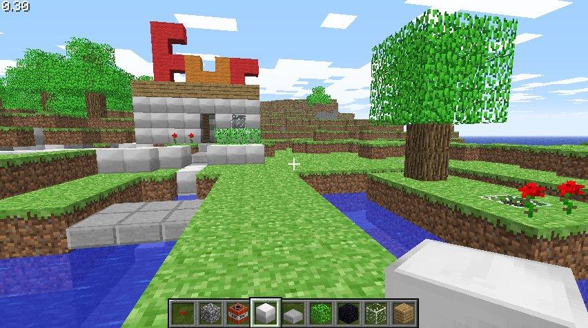 Minecraft world of lego a mon humble avis - Jardin maison minecraft nimes ...