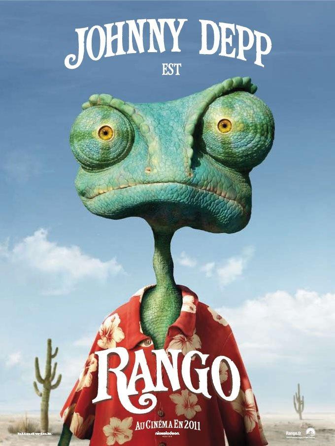 Rango, le caméléon solitaire