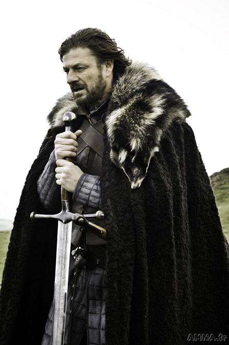 A Game of Thrones, Sean Bean cast as Eddard Stark