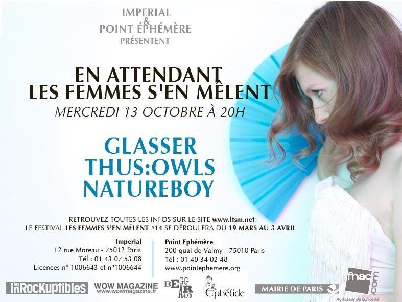 Concert ˝En attendant Les Femmes s'en mêlent˝ mercredi 13 octobre 2010 !