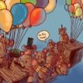Transmice pont ballons