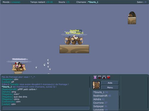 Transformice, le jeu multijoueur où les kikoolol jouent au Ban et à la Souris #2