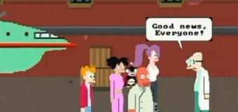Et si Futurama avait été un jeu sur Nes ?