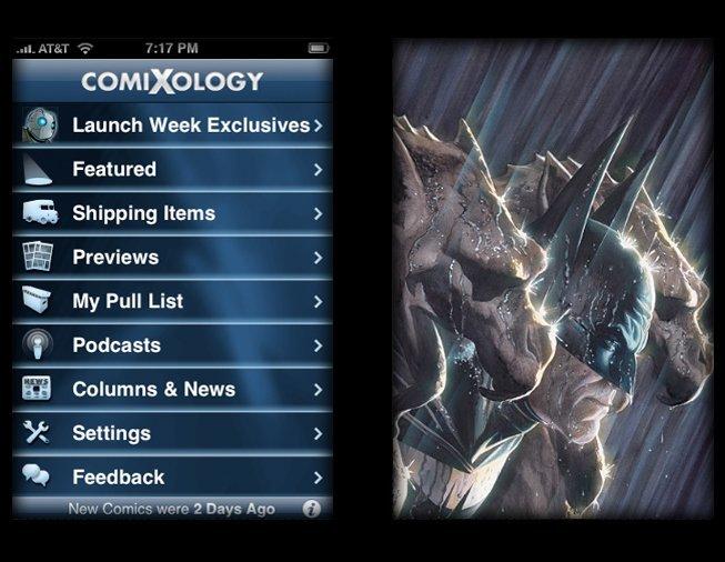 Comixology : achat et lecture de comics multi supports