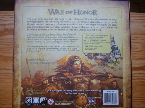 War of Honor #3