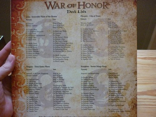War of Honor #5