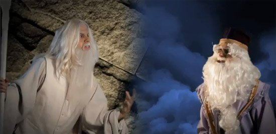 Epic Rap Battles of History: Gandalf vs Dumbledore