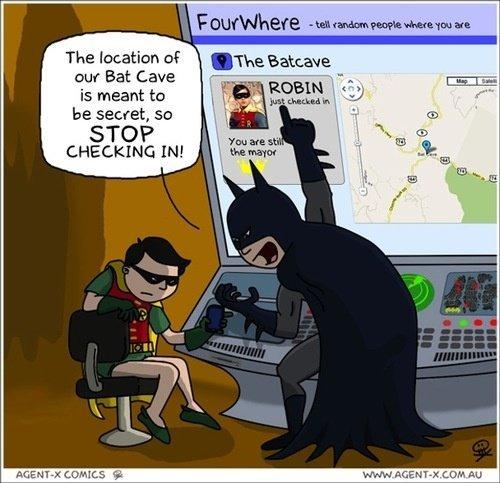 agent x_bat-cave-foursquare-batman-robin