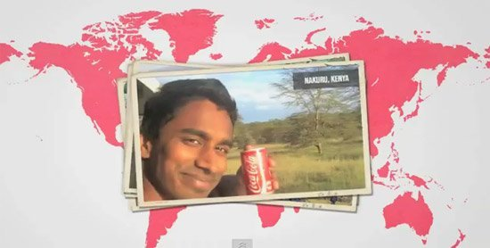 Il boit du Coca-Cola dans le monde entier - #CokeAroundTheWorld
