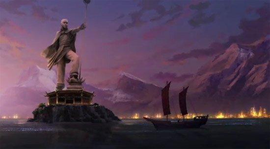 La Légende de Korra - Suite du dessin animé Le Dernier Maitre de l'Air #3