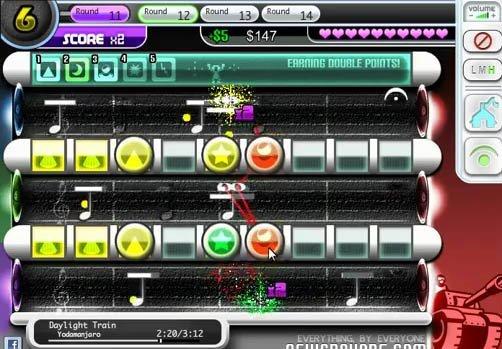 Symphonic tower defense jeu flash