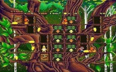"Screenshot du jeu ""Hotel Mario"""