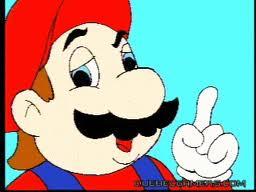 Dessin moche de Mario