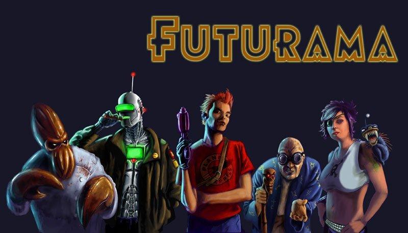 A quoi ressemblerait Futurama en série Live ? #2