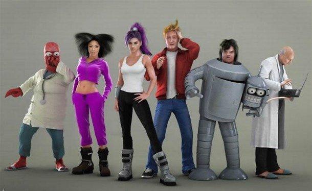A quoi ressemblerait Futurama en série Live ? #3