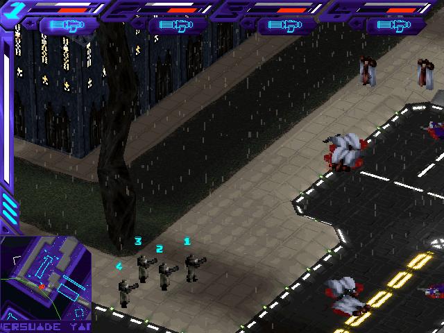 Screeshot du jeu Syndicate Wars