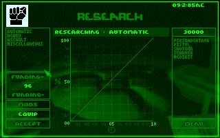 Ecran de la phase de recherche du jeu