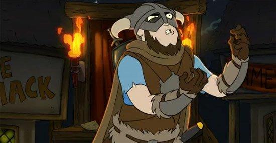 Harry Partridge : The Elder Scrolls Adventures of Skyrim