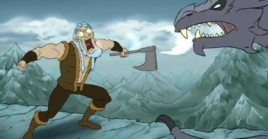 Harry Partridge : The Elder Scrolls Adventures of Skyrim #2