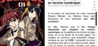 Comment Kana va foirer le passage à la lecture numérique de Mangas